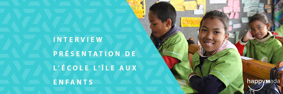 Du Côté des associations – Présentation De l'École l'Île Aux Enfants