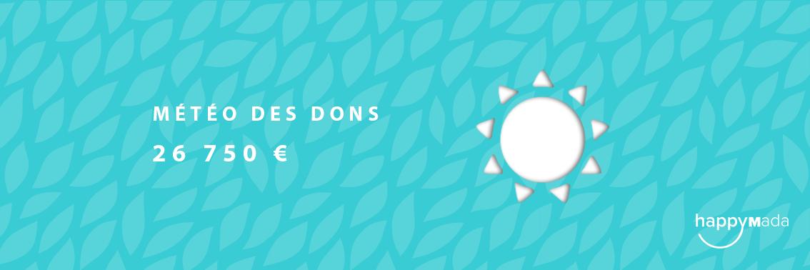 La Météo Des Dons – Happy Donateurs