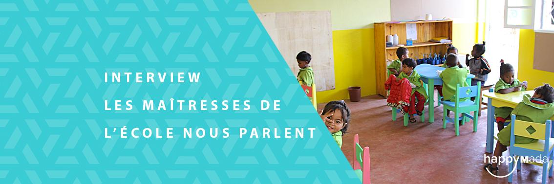 Du Côté des associations – Les Maîtresses De l'École l'Île Aux Enfants Nous Parlent
